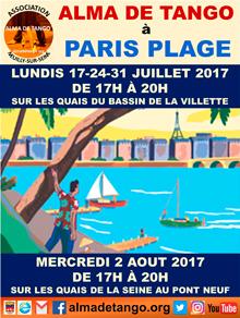ALMA DE TANGO à PARIS PLAGE