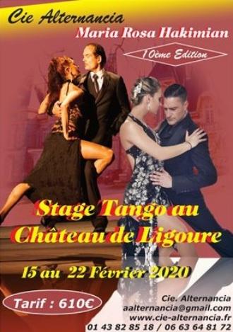 Stage Tango au Château de Ligoure Du 14 Novembre au 01 Décembre 2019Tarbes en Tango