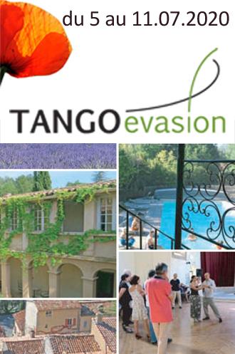 TANGOévasion: stage d'été 2020 avec Claudia Miazzo et Jean Paul Padovani
