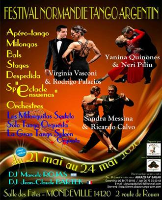 4ème FESTIVAL INTERNATIONAL NORMANDIE TANGO FESTIVAL